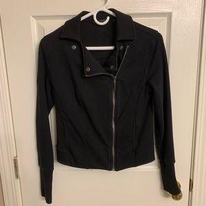H by Halstom size 4 moto style jacket, black